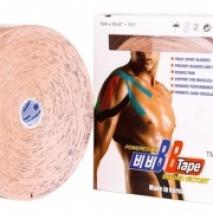 Кинезио тейп BBTape 5см*32м (Бежевый)