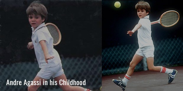 Andre Agassi in his Childhood 1439879276