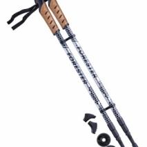 Палки для скандинавской ходьбы Forester, 67-135 см, 3-секционные