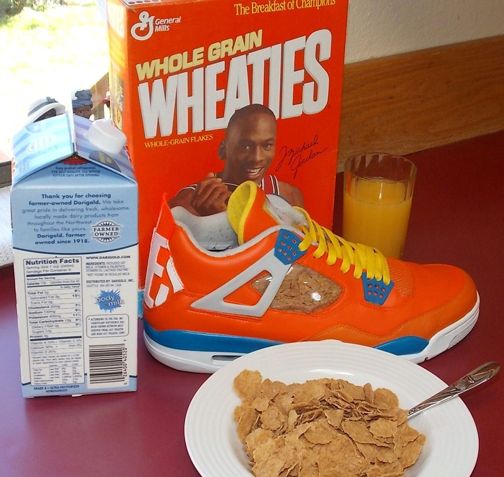 air jordan iv 4 wheaties988