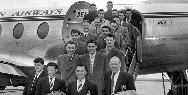 9Busby babes 1955